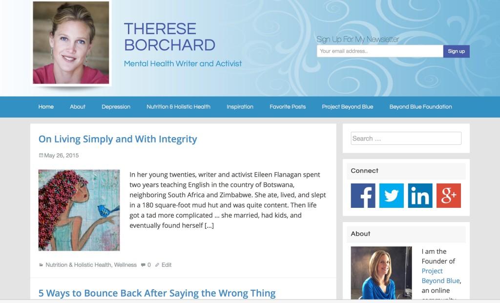 new website copy